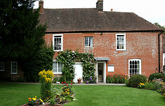 The English cottage where Jane Austen conjured up the escapades of Emma Woodhouse.