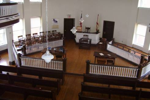 Monroeville Courthouse Interior