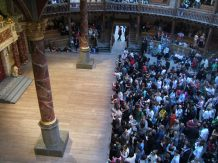 Groundlings at the Globe Theatre