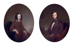 Robert and Elizabeth Barrett Browning