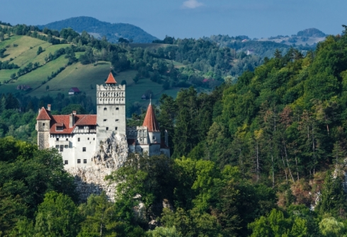 Transylvania's Bran Castle is a fitting döppelganger for the fictional Count Dracula's atmospheric abode.