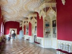 The gilded gallery where Walpole entertained royalty.