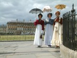 Bath Royal Crescent in Costume