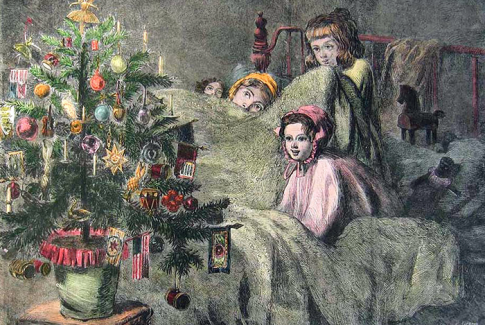 """A Little Women Christmas,"" Orchard House"